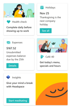 Viva Connections Dashboard